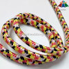 7mm Mixed Color Nylon Cord, 16-Strand Braid Nylon Rope
