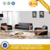 Metal Base Stable Structure Black Office Sofa (HX-S263)