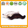 Custom Moustache Shape Candy Sweets Mint Tins for Promotional Gifts