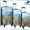 "Cityscapes Newyorkcity 3-Piece Set 20""/24""/28"" Premium Spinner Luggage Set Suitcase"