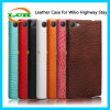 Alligator Grain PU Leather Case for Wiko Highway Stay 4G