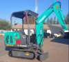 2017 New Excavator Small 1.5t Excavator for Sale