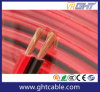 Transparent Flexible Speaker Cable (2X120 CCA Conductor)