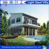 Economical Budget Luxury Strong Prefabricated Light Steel Villa with Good Heat Insulation Materials