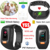 Waterproof Senior Smart GPS Tracker Bracelet with Real-Time Heart Rate Monitor Y6s