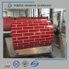 Brick Grain Pattern PPGI Prepainted Steel Coil with Best Quality