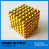 Gold Buckyballs/Color Neocube