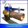Portable Round Tube Pipe CNC Plasma/Flame Groove/Bevel Cutting Machine