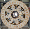 Marble Water-Jet Medallion Tile with Mix Color (Mosaic-116)