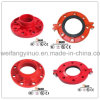 FM/UL/Ce Approval Ductile Iron Grooved Flange-1nuo Brand