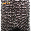 8A High Quality Mongolian Virgin Hair Wefts with Natural Color