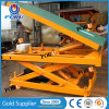 Indoor Floor Heavy Duty Material Handing Equipment Tilt Scissor Lift