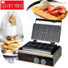 Commercial 10 Grids Non Stick Coating Waffle Maker