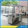 304 Stainless Steel Mobile Coffee Cart