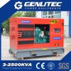 Soundproof 75kw 94kVA Portable Diesel Genset Powered by Cummins 6bt5.9-G1