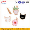 Cute Enamel Cat Badge for Clothes, Hats