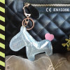Reflective Bag Hanger and Keychain with CE En13356