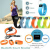 Splash Waterproof Bluetooth Smart Silicone Bracelet with Fitness Tracker Tw64