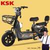 Brushless Motor Two Wheel Electric Vehicle for Adultsbrand Ksk Electric Scooter60 Km E Scootercarton Battery Electric Bike