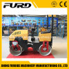 Hydraulic Steering 1 Ton Self-Propelled Vibratory Road Roller for Sale