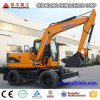 Xiniu New 6t 7t 8t 12t Wheeled Excavator for Sale