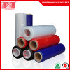 Machine Packing Plastic Red Stretch Film in Roll