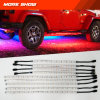 Smartphone Controlled LED Light Strip Kit with Color Chasing Light Strips for Trucks Sync Light to Speed