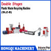 Double Stages Plastic Waste Recycling Machine
