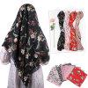 Custom Printing Chiffon OEM Custom Printing Muslim Scarf Hijab