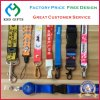 Office Strap Custom Polyester Neck Lanyard with Metal Hook & Detachable Buckle