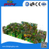 Kids Mall Jungle Playground with Wave Slide, Plastic Tube Slide Playhouse Have Fun Indoor Playground