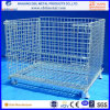 Painted Powder Steel Mesh Box Fold Container