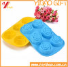 Silicone Rose Flower Shape Mold with FDA Standard