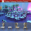Luxury Gold Wedding Infiniti Stainless Steel Legs Dining Chair (YC-ZS39)