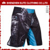 OEM Service Cheap Men Split Polyester Spandex MMA Shorts (ELTMMJ-142)