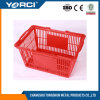 Durable Retail Shop Supermarket Plastic Handle Portable Shopping Basket