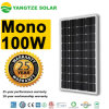 Grade a Qaulity 12V 100wp Monocrystalline Solar Electric Panel