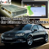 Car Video Interface for Citroen Smeg+ Mrn System C3-Xr C4 C4 Picasso C5, Android Navigation Rear and 360 Panorama Optional