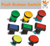 IP40 Protection Level Plastic Push Button Switch