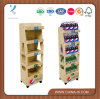 Retail Wood Rack for Coke Glass Bottles