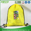 Customized 190t/210d Polyester Bag Drawstring Backpack (MECO160)
