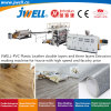 Jwell-PVC Plastic Leather Double Layers and Three Layers Recycling Agricultural Extrusion Making Machine for House with High Speed and Factory Price