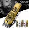 Professional Beauty Salon Equipment Electric Hair Trimmer Retro Push-Shear Shell