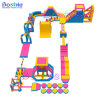 Exciting Jumping Water Obstacle Inflatable Used Amusement Fun Park Equipment