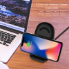 Fast Charging 10W Qi Standard Best Wireless Charger iPhone X with 3 Coils