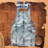 Most Popular Fashion Ladies Denim Jeans Suspender Skirt (Light Blue-HDLJ0014)