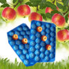 Disposable Apple Use Different Color PP Plastic Tray