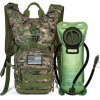 Tactical Molle Hydration Pack Backpack 900d with 2L Leak-Proof Water Bladder, Keep Liquids Cool for up to 4 Hours