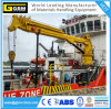 1t@31m Telescopic Boom Marine Crane with ABS, BV, CCS Certificate