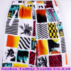 2017 Beachwear New Printing Patten on Polyester Peach Skin